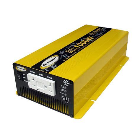 Inverter 24v sine wave inverter go power gp sw1000 24 volt