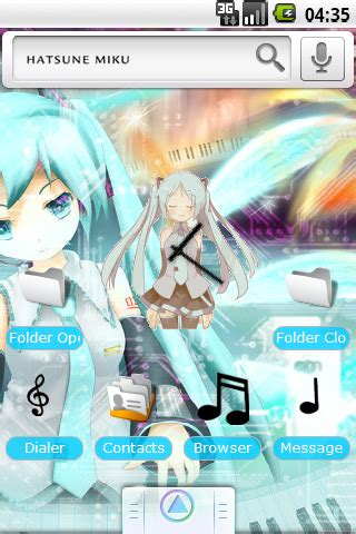 theme line android miku hatsune miku android themes android mobile wallpapers