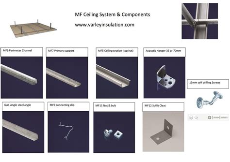 Ceiling Components Mf Ceiling System Various Components Mf Ceiling System