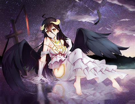 anime like overlord albedo wallpaper and background image 1366x1057 id 626801
