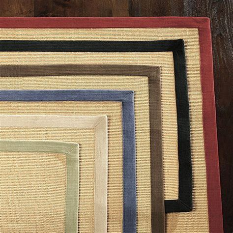 sisal rug with blue border sisal rug daniel s apartment