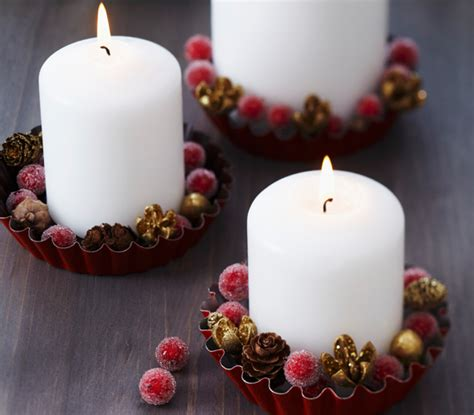 candele da decorare come decorare casa per natale 10 idee da copiare leitv