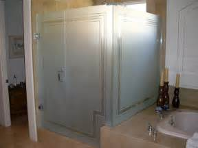 frosted shower door glass shower doors sans soucie glass