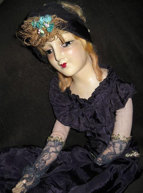 composition flapper doll 714 best images about boudoir dolls on 1920s
