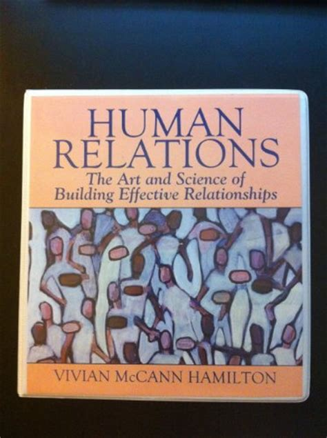 the craft of building conscious authentic relationships books human relations the and science of building