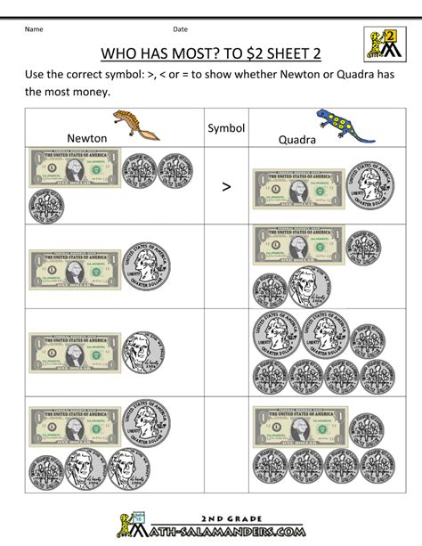 money money money worksheet the world s catalog of ideas