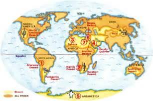 Deserts Of The World Map by Kayat Kandi World Desert Map