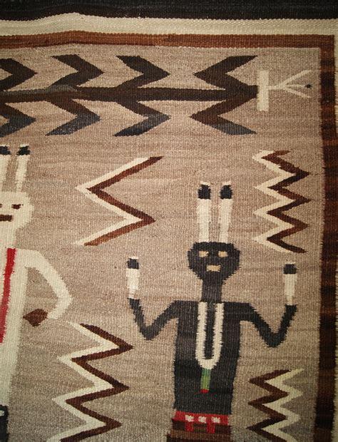 navajo rug for sale historic yeibichei pictorial navajo rug for sale circa 1920