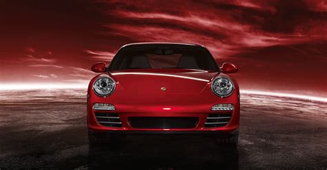 porsche 911 front view 2011 red porsche 911 carrera 4s wallpapers