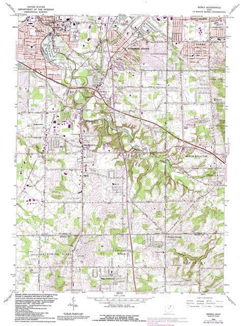 kentucky map berea berea topographic map oh usgs topo 41081c7