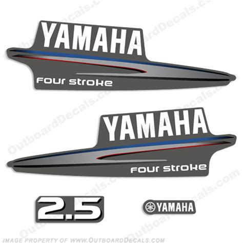 Yamaha Outboard Sticker by Yamaha 2 5hp Fourstroke Decals