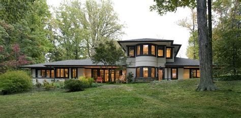 frank lloyd wright inspired house plans 2003 prairie style in annapolis maryland oldhouses