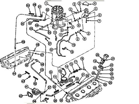 7 best images of 1990 ford fuel system diagram 1990 ford