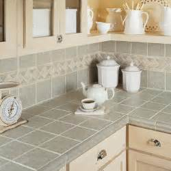 Tile Kitchen Countertop Ideas Countertops Tilecraft