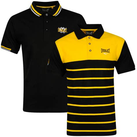 Yellow White Gray Black Meow Leisure S M L Sweater Top 45198 Everlast S 2 Pack Polo Shirt Black Yellow White