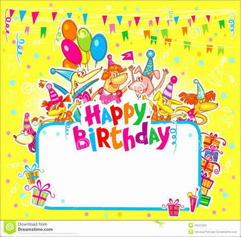 5 Happy Birthday Card Template Free Download Sletemplatess Sletemplatess Birthday Wishes Templates Free