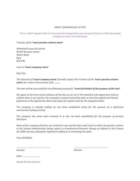 Loan Request Letter For Business 4 loan application letters for starting up a