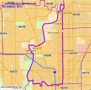 Indianapolis In Zip Code Map by Zip Code Map Of 46208 Demographic Profile Residential