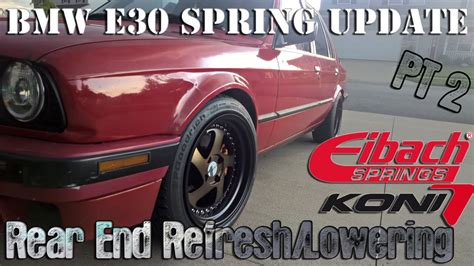 Per Lowering Bmw E30 bmw e30 update lowering rear end bushings pt 2 ep 4