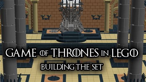 of thrones chat room of thrones throne room made from legos