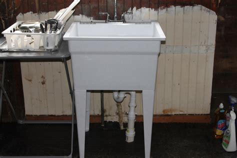 My Aching Back: A Temporary Kitchen Sink And A Garden