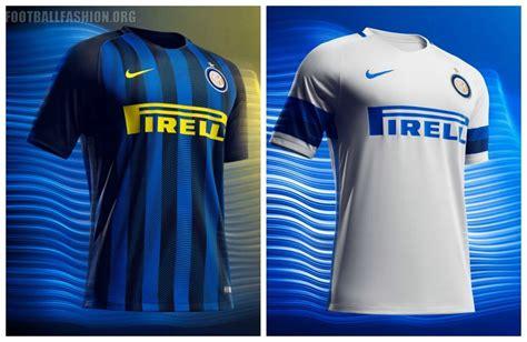 Jersey Inter Away inter milan 2016 17 nike home and away kits football