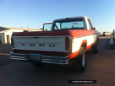 ford truck bed 1978 ford f150 4x4 short bed