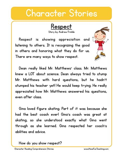 printable worksheets on respect worksheets on respect switchconf