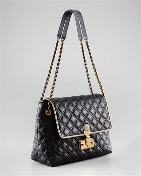 Marc Dita Large Quilted Purse by Marc The Single Baroque Twotone Quilted Bag