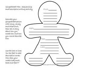 Gingerbread man story characters printable i created a printable