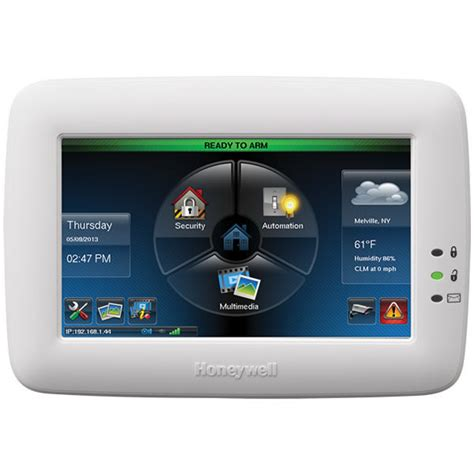 honeywell tuxedo touch si alarms ltd