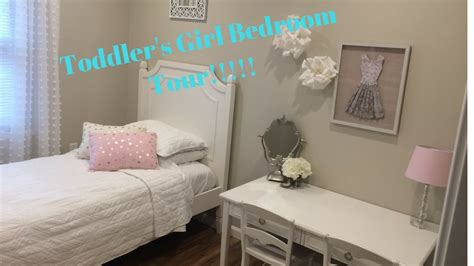 small bedroom tour cute toddler girls room tour decorating small bedroom