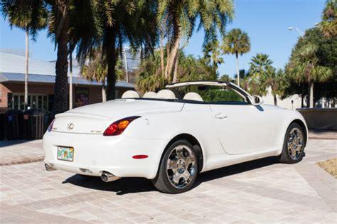 lexus sc430 for sale florida jthfn48y440051423 2004 lexus sc430 convertible 2 door 4