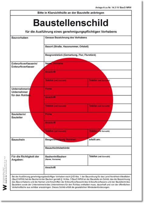 Baustellenschild Roter Punkt Berlin by Baustellenschild Roter Punkt Weise Software Gmbh