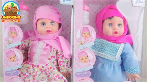 Mainan Boneka Anisa unboxing boneka bisa berdoa anisa perfumed doll 7l