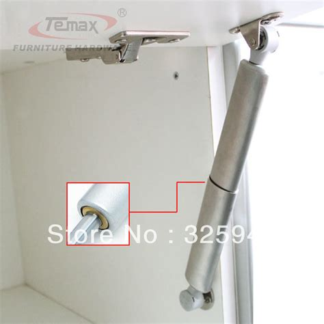 kitchen cabinet hinge hardware 2x100n stainless steel furniture hardware gas lift up cupboard support kitchen cabinet
