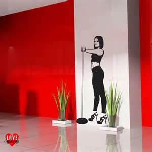 Life Size Athlete Wall Stickers jessie j jessica cornish life size wall art sticker