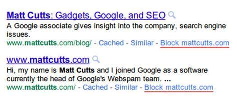 istemediginiz siteleri google arama sonuclarindan cikarin