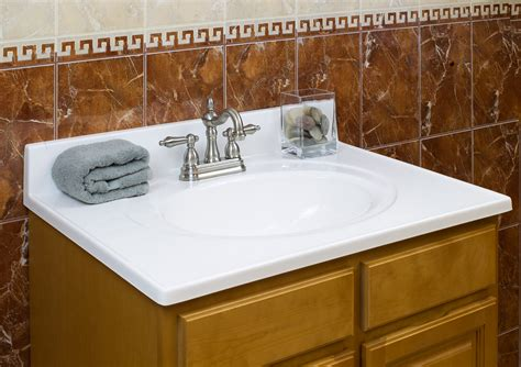 Caring For Marble Countertops In Bathroom by Lesscare Gt Bathroom Gt Vanity Tops Gt Cultured Marble