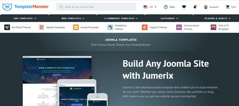 template joomla monster how to install a joomla template greengeeks