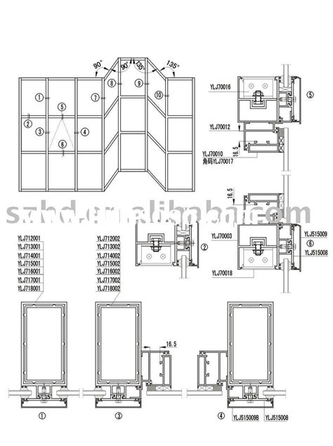 aluminium curtain wall design guide manual invisible curtain wall installation extrusion for sale