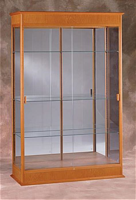 Trophy Display Cabinets With Glass Doors This Display Cabinet Mirrors Awards And Trophies In Diffused Light This Display Cabinet Locks