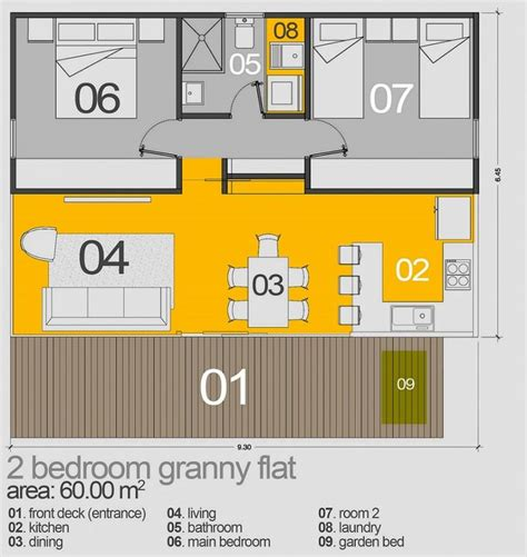 60m2 house design the 25 best granny flat plans ideas on pinterest granny flat flat plan and house