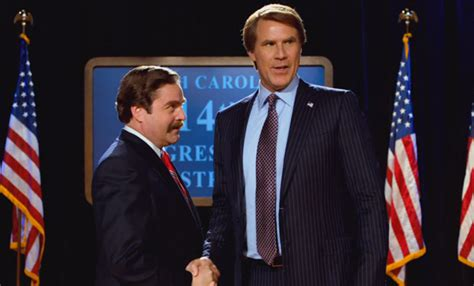zach galifianakis election movie the caign trailer has will ferrell and zach