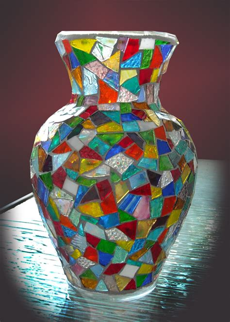 Mosaic Vase by 1000 Images About Mosaic Vases On