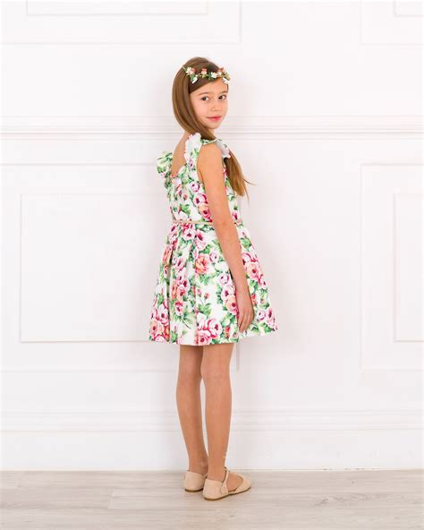 Pleated Floral Print Dress floral print pleated dress missbaby