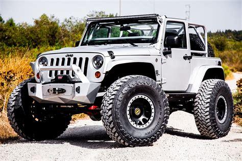 baby jeep wrangler white baby jeep lifted wrangler with custom parts carid