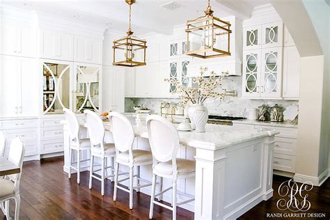 Dark to Light Kitchen Before and After   Elegant White