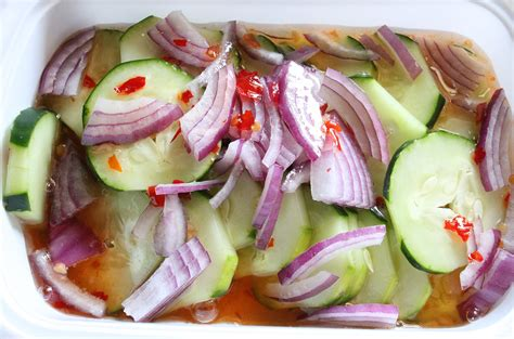 cucumber recipe sweet thai cucumber salad recipe