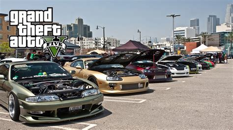tuner cars gta 5 gta 5 car meet tuning cars